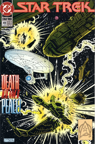 DC Star Trek Monthly 2 #49