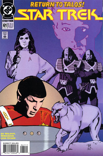 DC Star Trek Monthly 2 #61