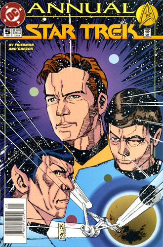 DC Star Trek Annual #5
