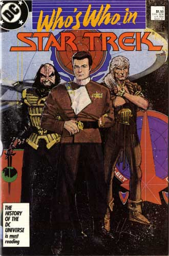 DC Who's Who in Star Trek #1