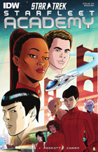 IDW Star Trek Starfleet Academy Preview