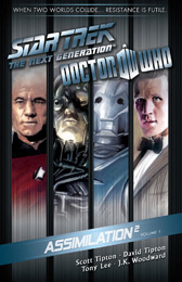 IDW Star Trek TNG/Doctor Who Assimilation Vol. 1 TPB