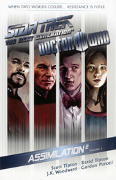 IDW Star Trek TNG/Doctor Who Assimilation Vol. 2 TPB