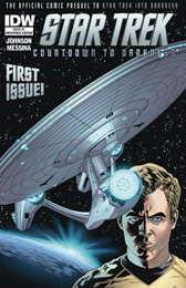 IDW Star Trek Countdown to Darkness #1 Enterprise Edition
