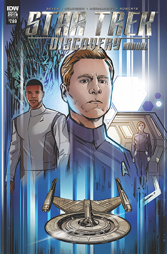 IDW Star Trek Discovery - 2018 Annual A