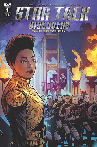 IDW Star Trek Discovery - Succession 1 A