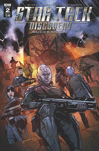 IDW Star Trek Discovery - Succession 2 A