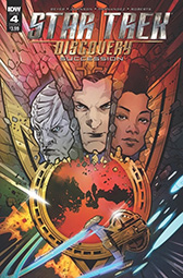 IDW Star Trek Discovery - Succession 4 A