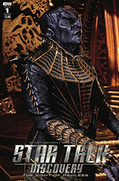IDW Star Trek Discovery -  The Light of Kahless 1B