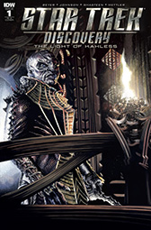 IDW Star Trek Discovery -  The Light of Kahless 1 RI-A