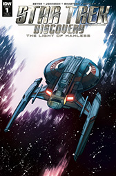 IDW Star Trek Discovery -  The Light of Kahless 1 RI-B