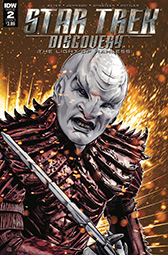 IDW Star Trek Discovery -  The Light of Kahless 2A