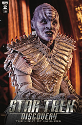 IDW Star Trek Discovery -  The Light of Kahless 2B