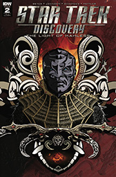 IDW Star Trek Discovery -  The Light of Kahless 2 RI-A