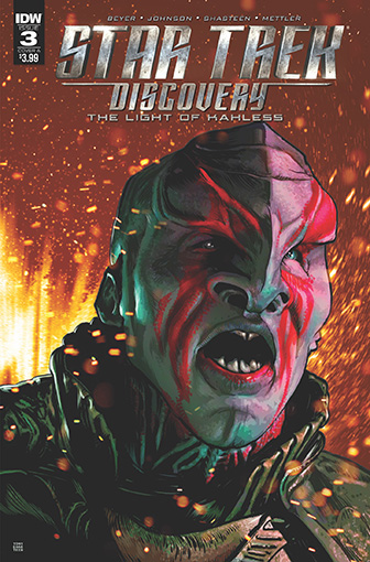 IDW Star Trek Discovery -  The Light of Kahless 3A