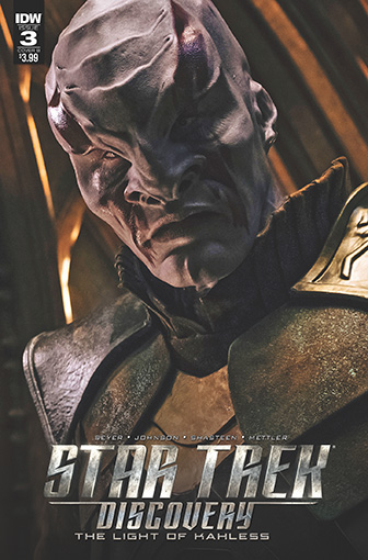 IDW Star Trek Discovery -  The Light of Kahless 3B