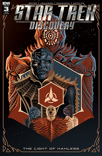 IDW Star Trek Discovery -  The Light of Kahless 3 RI-A
