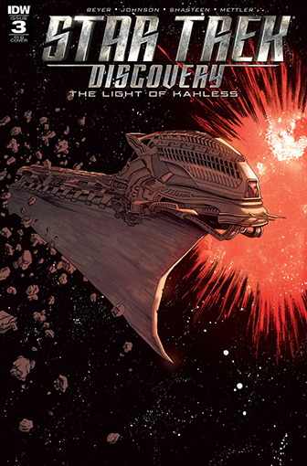 IDW Star Trek Discovery -  The Light of Kahless 3 RI-B