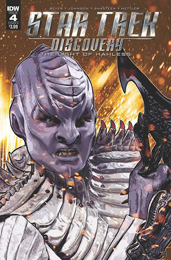 IDW Star Trek Discovery -  The Light of Kahless 4A