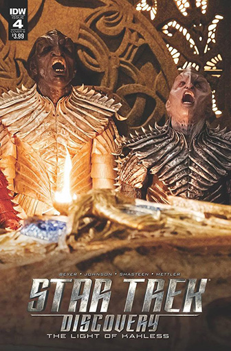 IDW Star Trek Discovery -  The Light of Kahless 4B