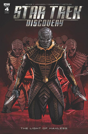 IDW Star Trek Discovery -  The Light of Kahless 4 RI-A