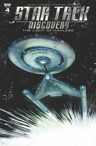 IDW Star Trek Discovery -  The Light of Kahless 4 RI-B