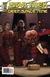 IDW Star Trek DS9 Fool's Gold #3A