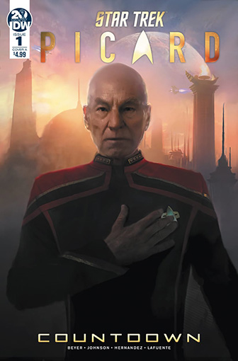 IDW Star Trek Picard Countdown 1