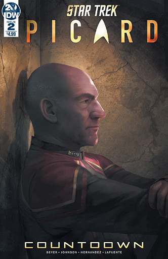 IDW Star Trek Picard Countdown 2