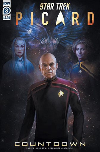 IDW Star Trek Picard Countdown 3