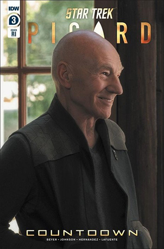 IDW Star Trek Picard Countdown 3 RI