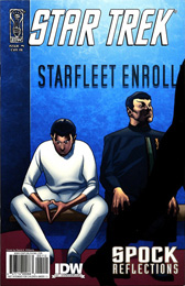 IDW Star Trek: Spock Reflections #1RI