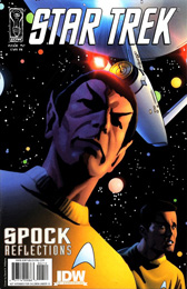 IDW Star Trek: Spock Reflections #2RI