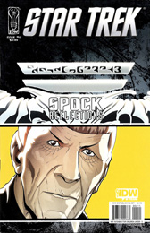 IDW Star Trek: Spock Reflections #4