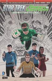 IDW Star Trek Green Lantern 2nd Print