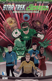 IDW Star Trek Green Lantern 1A