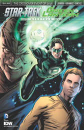 IDW Star Trek Green Lantern 1 RE 4CG