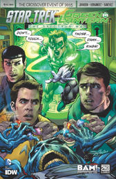 IDW Star Trek Green Lantern 1 RE BAM! B