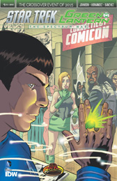 IDW Star Trek Green Lantern 1 RE BIG FEDORA