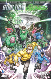 IDW Star Trek Green Lantern 1 RE CONVENTION