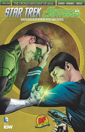IDW Star Trek Green Lantern 1RE Dynamic Forces