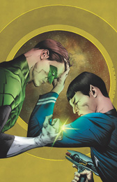 IDW Star Trek Green Lantern 1RE Dynamic Forces Virgin