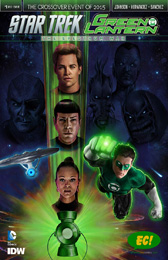 IDW Star Trek Green Lantern 1 RE Emerald City