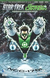 IDW Star Trek Green Lantern 1 RE HASTINGS