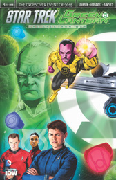 IDW Star Trek Green Lantern 1RE Previews B