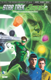 IDW Star Trek Green Lantern 1RE  Previews A