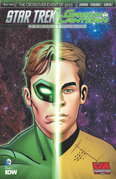 IDW Star Trek Green Lantern 1 RE VA Comic Con