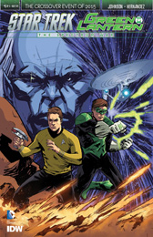 IDW Star Trek Green Lantern 1SUB