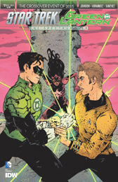 IDW Star Trek Green Lantern 2A