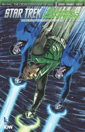 IDW Star Trek Green Lantern 3SUB